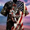 Welder Flag Hawaiian Shirt