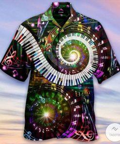 10 Fingers 88 Keys Piano Hawaiian Shirt