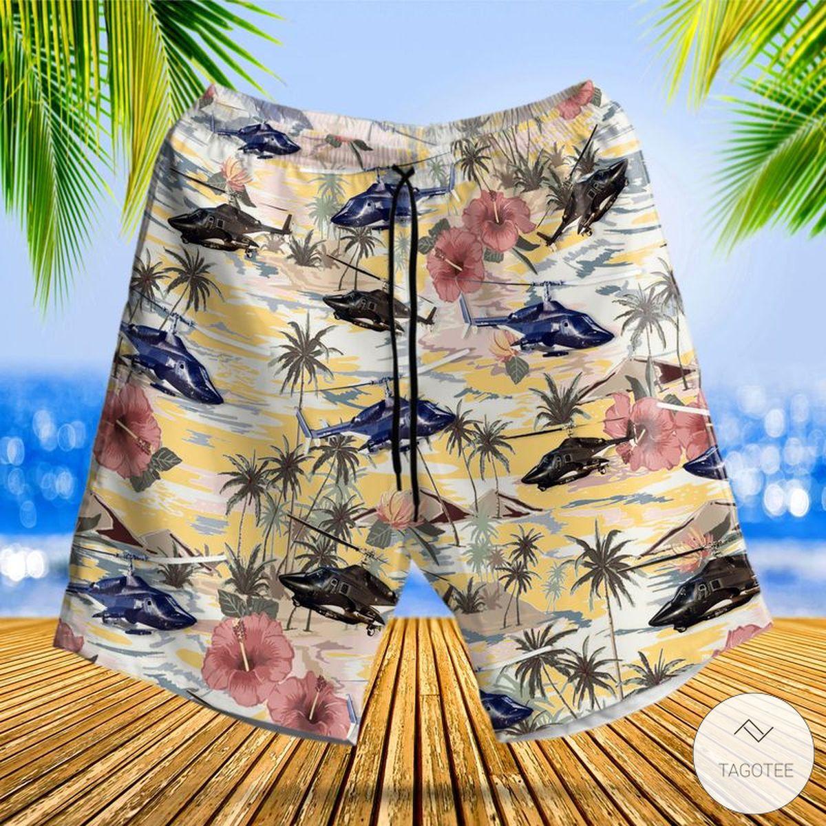 Airwolf Hawaiian Shirt, Beach Shortsz