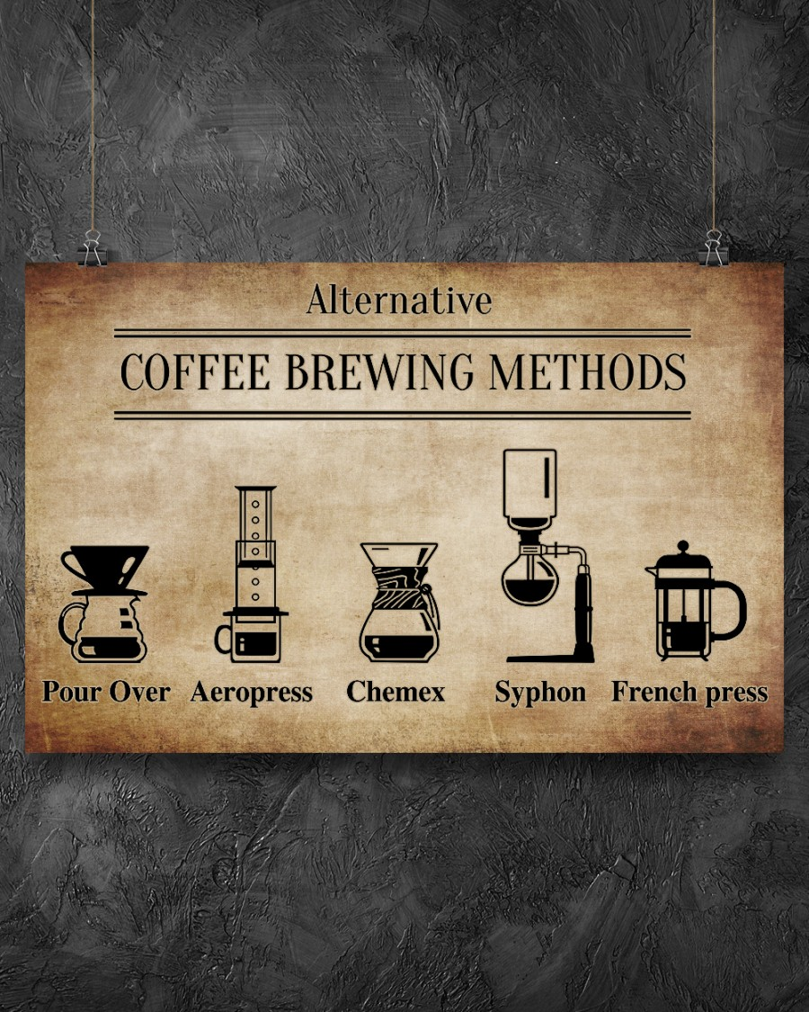 Alternative Coffee Brewing Methods Posterz
