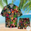 Amazing Tiki Tropical Combo Hawaiian Shirt And Short