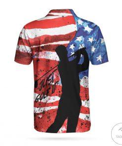 American Golfer Just Golf Polo Shirtz
