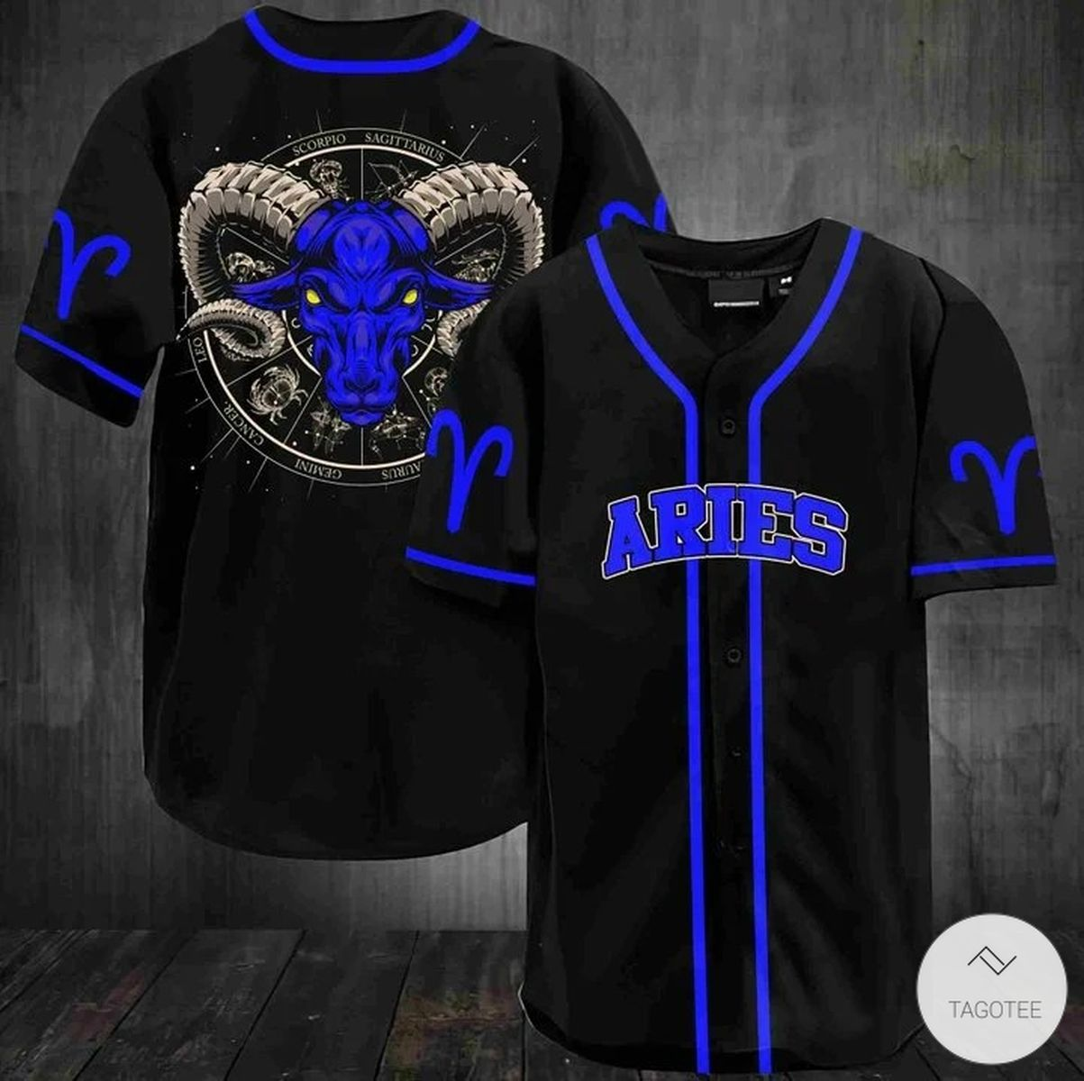Aries Baseball Jersey
