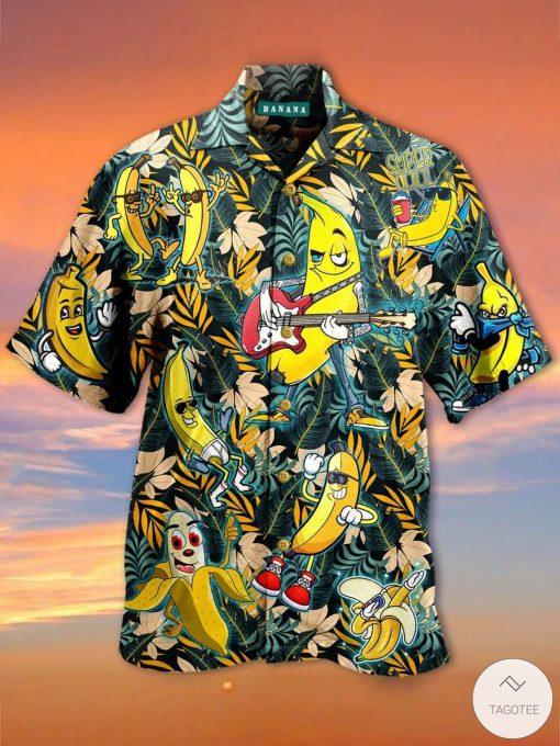 Banana Tropcial Hawaiian Shirt