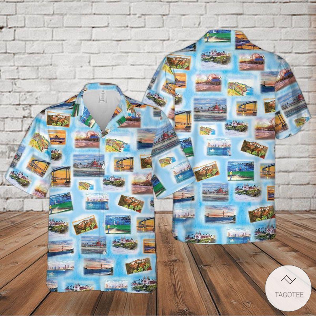 California Hawaiian Shirt