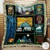 Camping I'm Retired Going Camping Is My Job Quilt