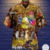 Cat Music Band Hawaiian Shirt