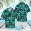 Chimpanzees Tropical Hawaiian Shirt