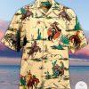 Cowboys Horse Riding Hawaiian Shirt