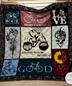 Cycling The Mountain Is Calling And I Must Go Quilt