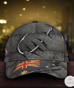 Fishing Australian Flag Cap