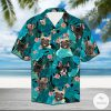Frenchie Bulldog Tropical Hawaiian Shirt