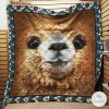 Funny Alpaca Face Quilt
