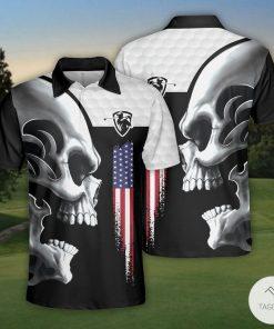 Golf Skull Polo Shirt