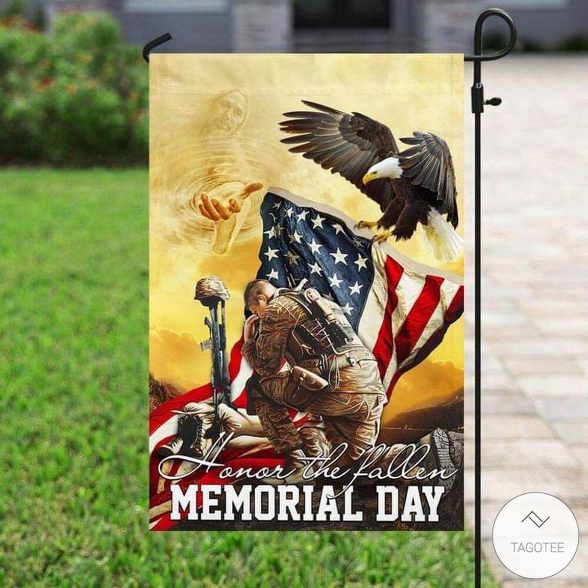 Honor The Fallen Memorial Day Flag