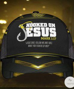 Hooked On Jesus Fishers Cap