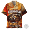 I Do Have A Retirement Plan I'll Drive My Hot Rod All Day Everyday Hawaiian Shirtz