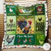 I Love My Chickens You Are My Sunshine Quilt