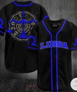 Libra Baseball Jersey