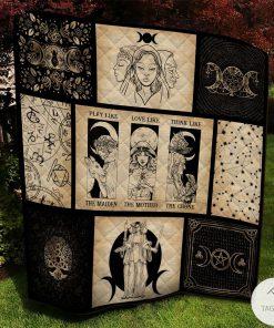 Maiden Mother Crone Witch Quilt