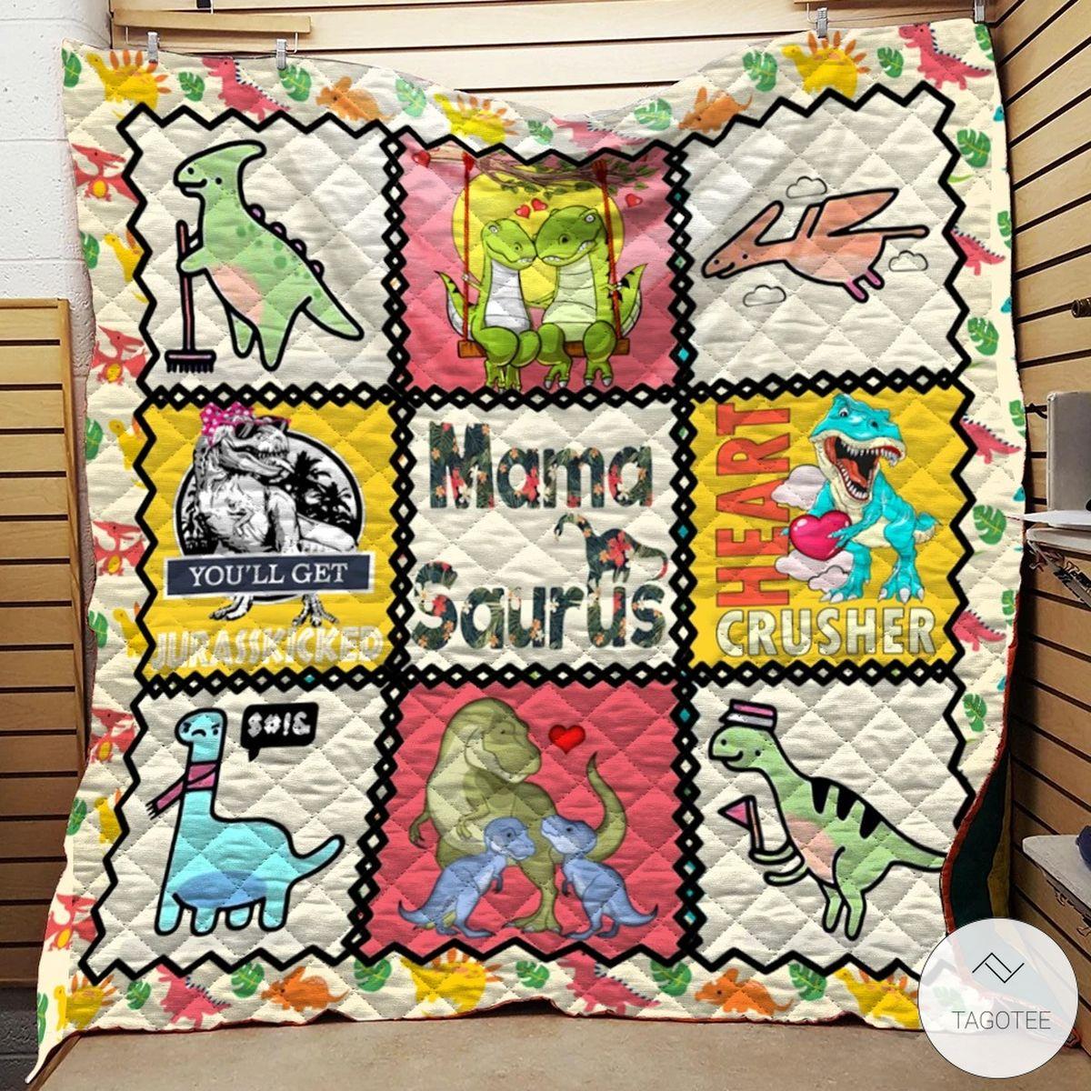 Mamasaurus Quilt