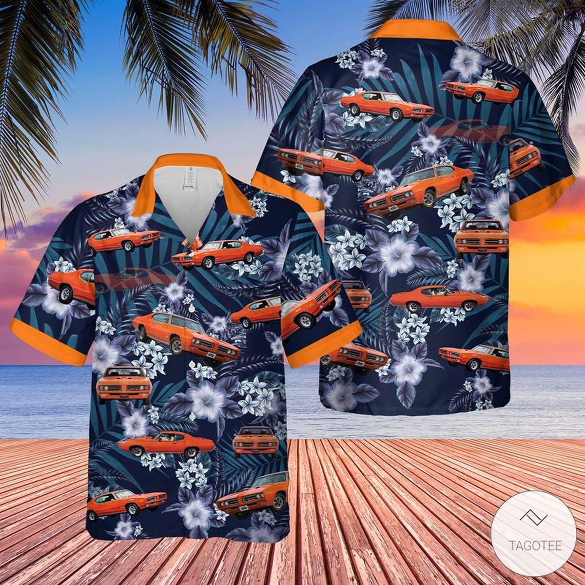 Muscle Car Hawaiian Shirt