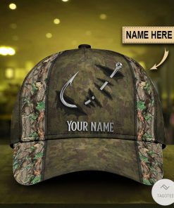 Personalized Camouflage Fishing Hook Cap