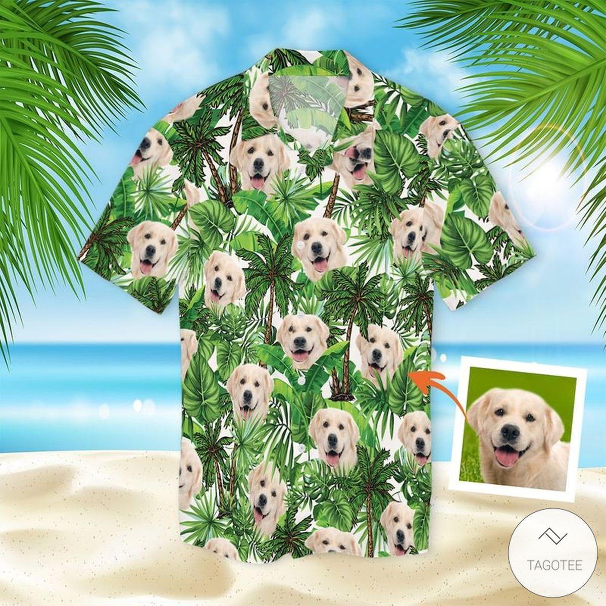 Personalized Custom Pet Photo Hawaiian Shirt