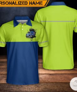 Personalized US Waste Collector Polo Shirt