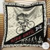Ride Until Die Cycling Quilt