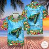 Sea Turtle And Into The Ocean I Go Lose My Mind And Find My Soul Hawaiian Shirt