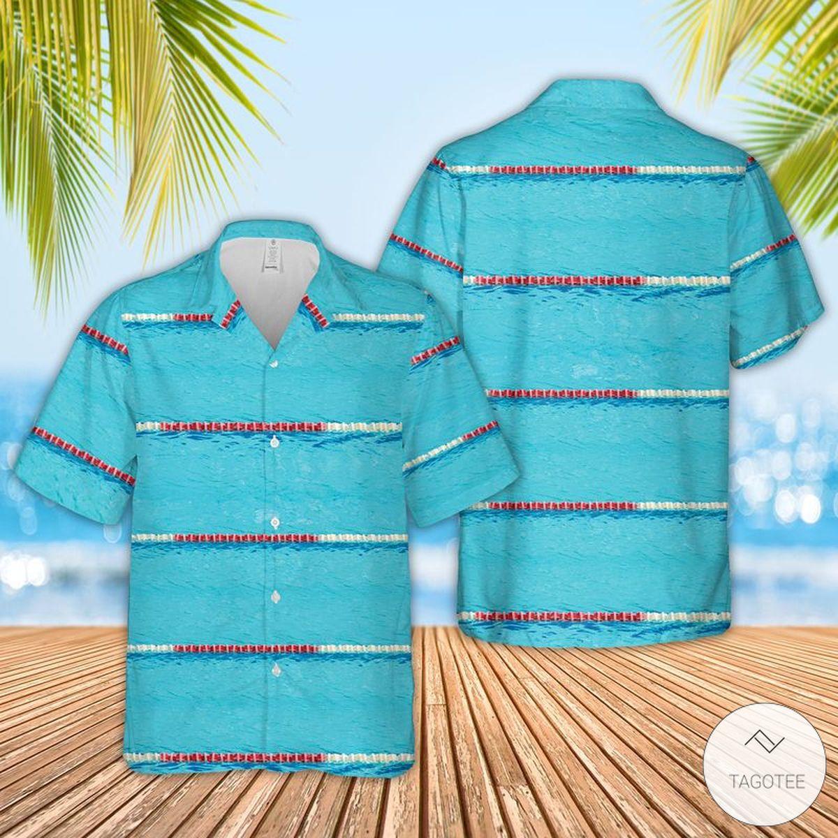 Swimming Pool Hawaiian Shirt