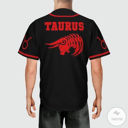 Taurus Baseball Jerseyx