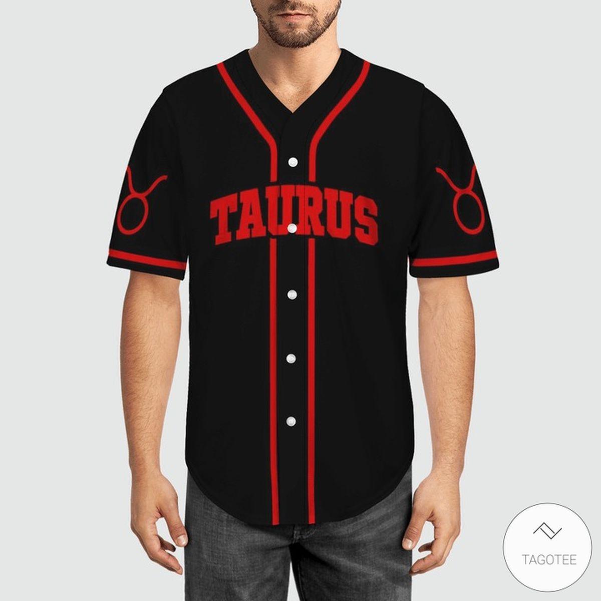 Taurus Baseball Jerseyz