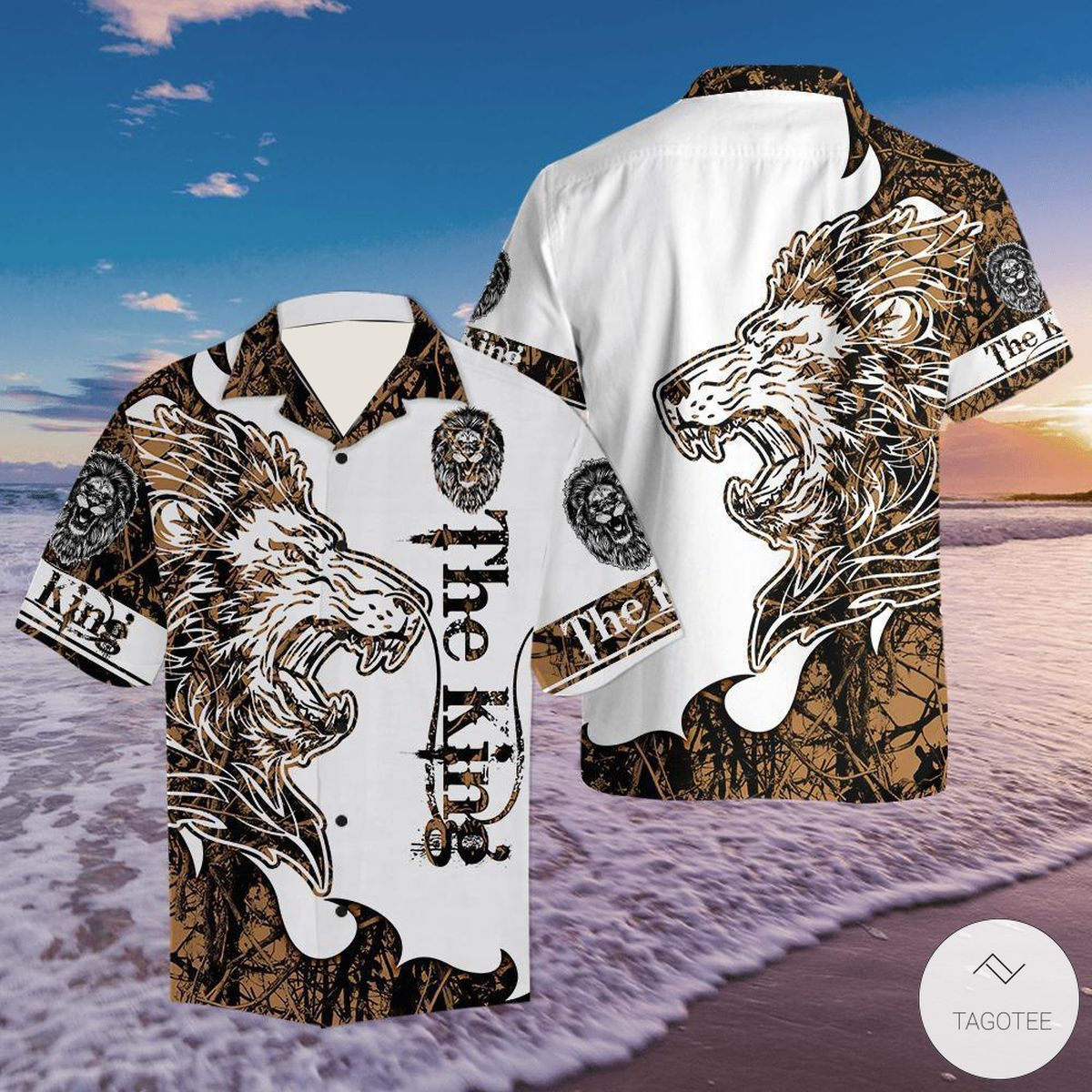The King Lion Hawaiian Shirt