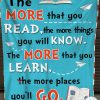 The More That You Read The More Things You Will Know Fleece Blanket