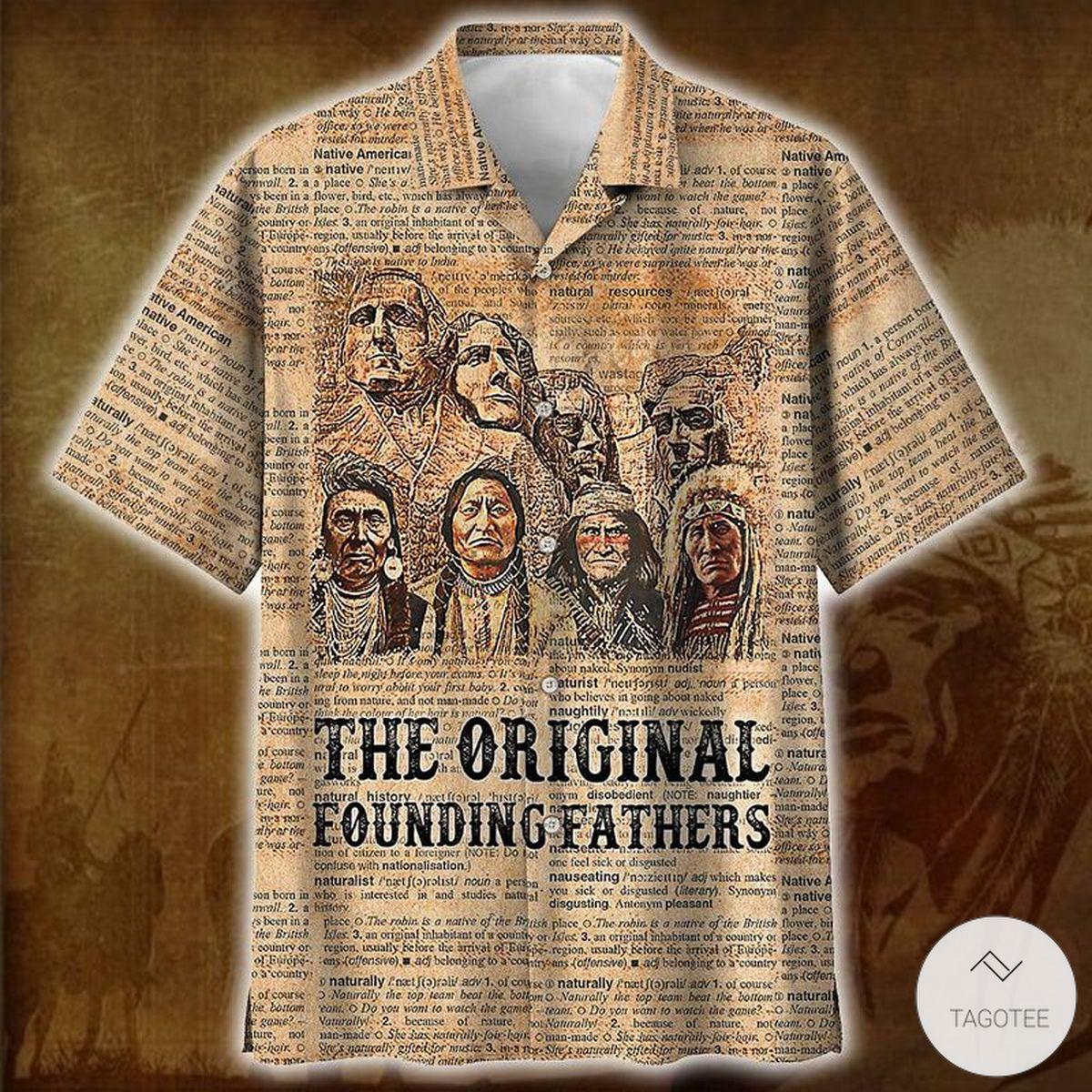 The Original Founding Fathers Hawaiian Shirt