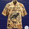Too Many Idiots Not Enough Axes Viking Hawaiian Shirt