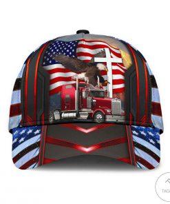 Trucker Eagle Cap