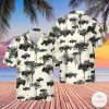 US Army WWII Truck Hawaiian Shirt, Beach Shorts