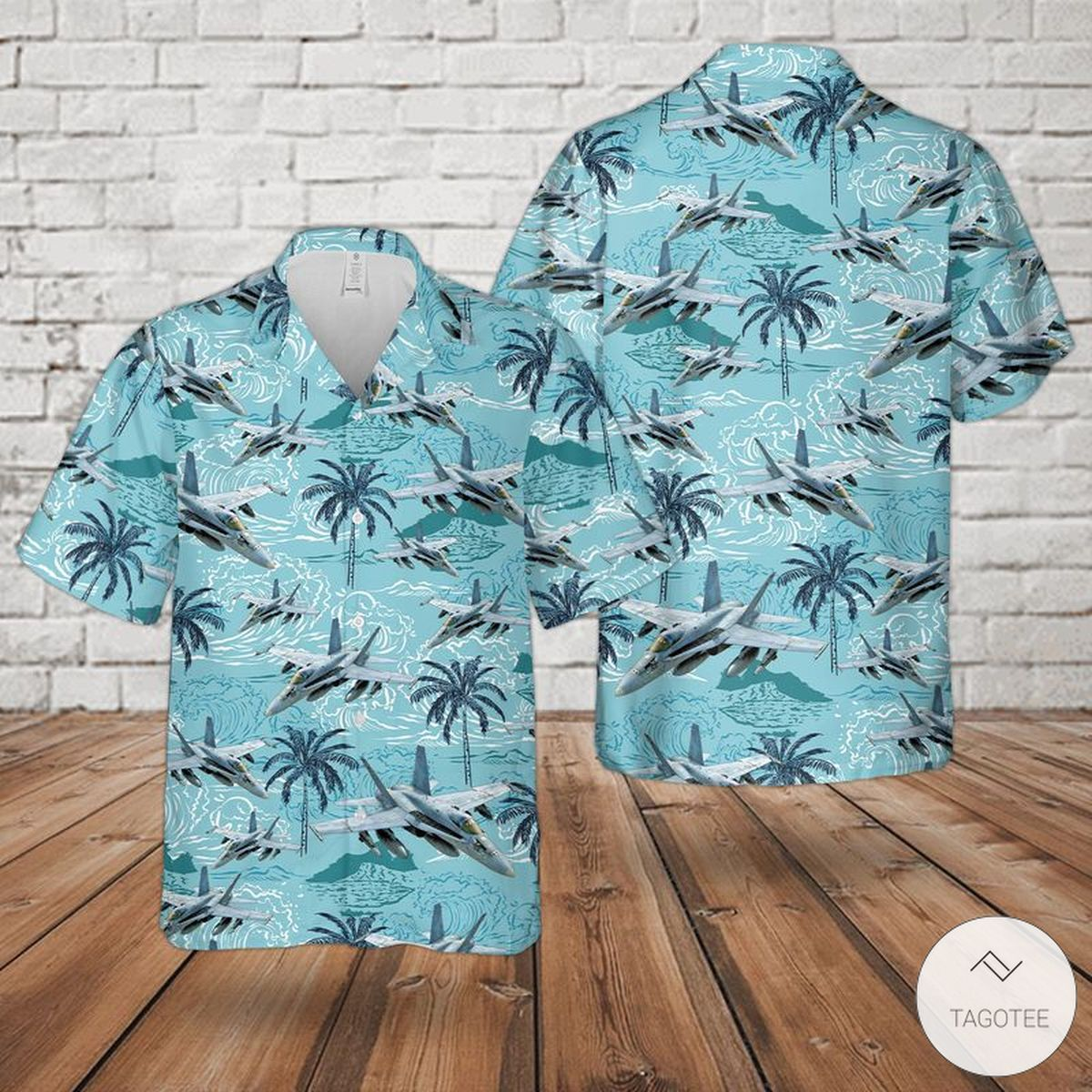 US Navy McDonnell Douglas FA-18 Hornet Hawaiian Shirt, Beach Shorts