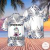 Unicorn Workout Because Murder Is Wrong Hawaiian Shirt