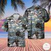 Vietnam Era CH-46 Sea Knight Helicopter Hawaiian Shirt, Beach Shorts