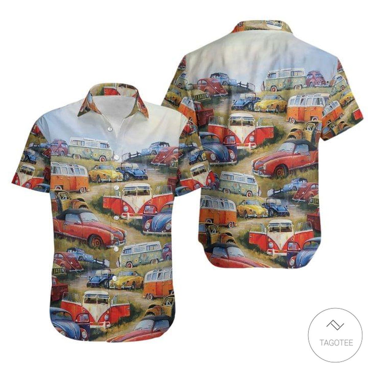Volkswagen Vintage Hawaiian Shirt