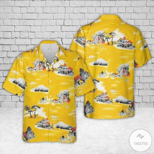 Yellow Style Cliff Booth Once Upon a Time in Hollywood Hawaiian Shirt