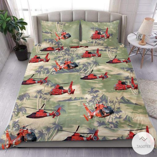oast Guard Helicopter Bedding Set