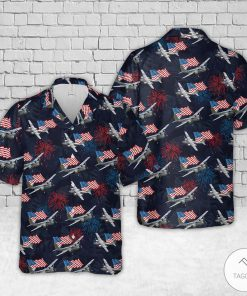A-26 Invader US Air Force Hawaiian Shirt, Beach Shorts