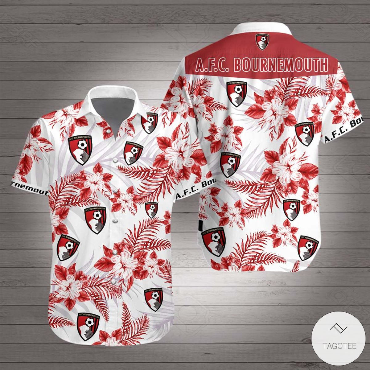 A.F.C. Bournemouth Hawaiian Shirt