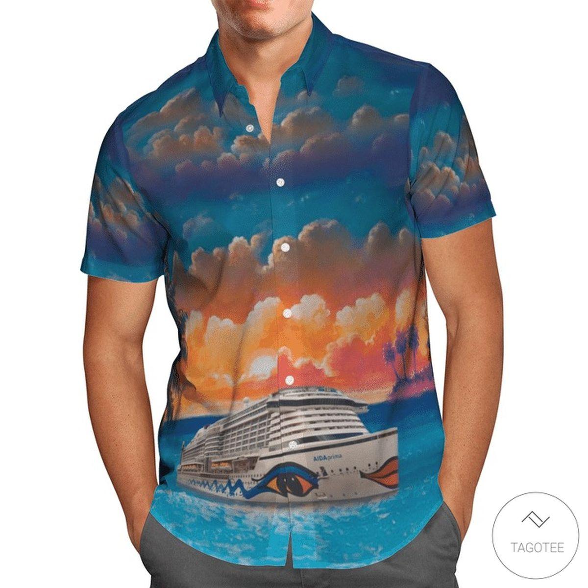 AIDA Cruises Hawaiian Shirt z