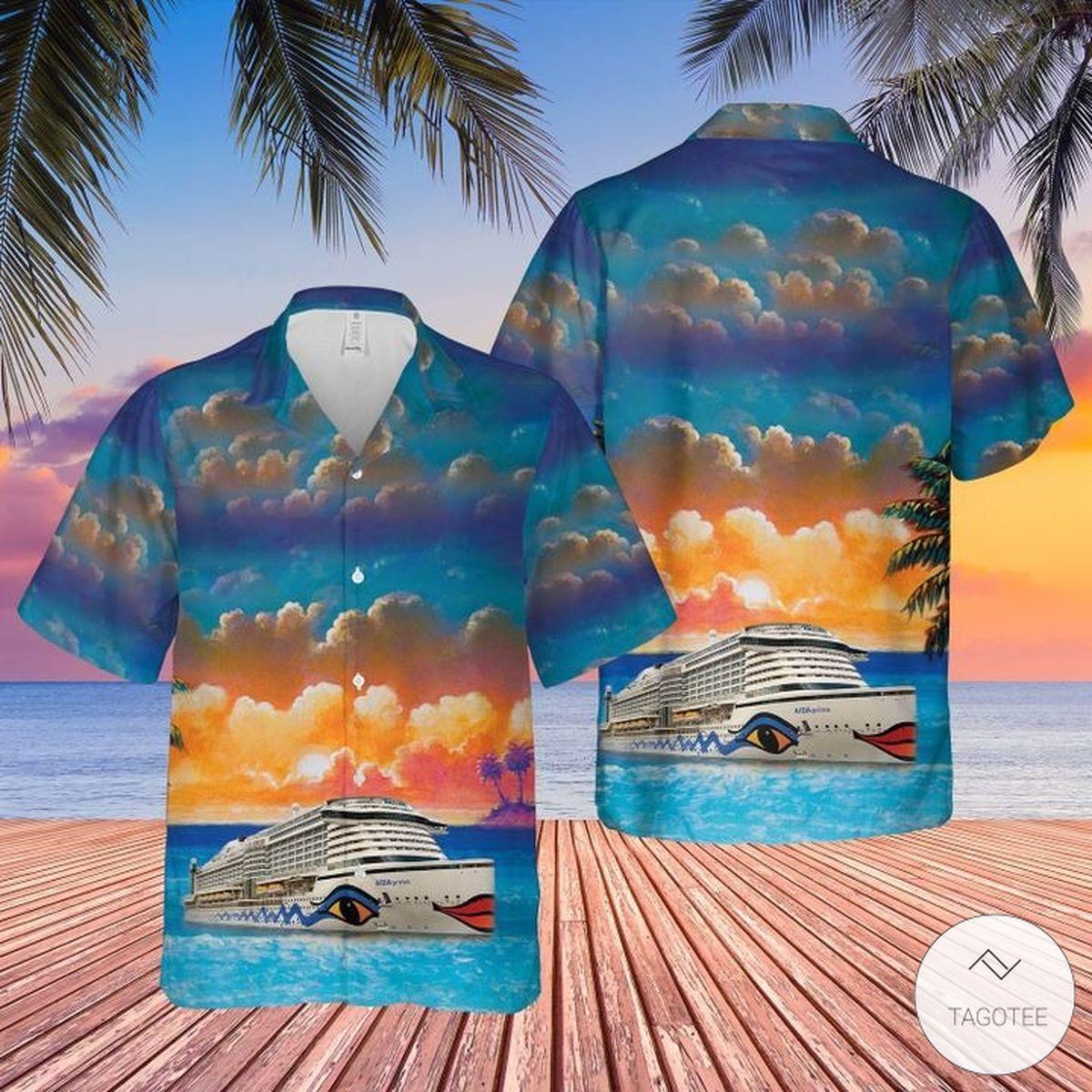AIDA Cruises Hawaiian Shirt